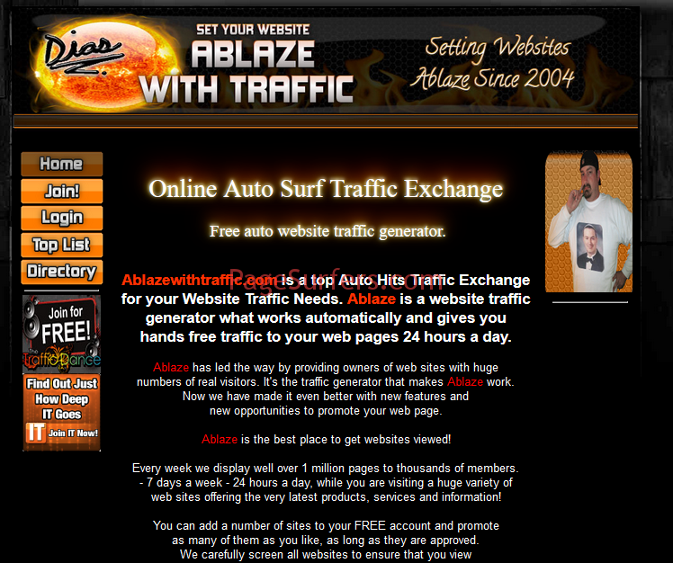 Ablazewithtraffic Main Page