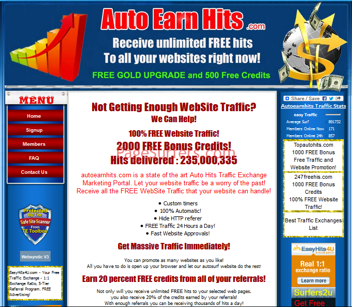 Autoearnhits Main Page